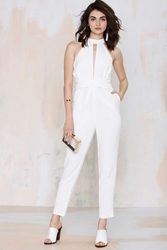 Nasty Gal Cameo Breaking Hearts Cutout Jumpsuit