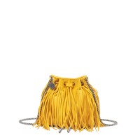 Stella Mccartney Fringe Falabella Bucket Bag