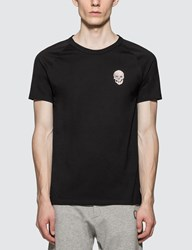 Alexander Mcqueen Painted Skull T Shirt Black