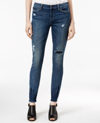 Tommy Hilfiger Ripped Rinse Wash Skinny Jeans