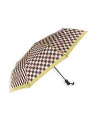 Mackenzie Childs Courtly Check Travel Umbrella No Color