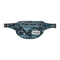 Maison Kitsune Blue Eastpack Edition Camouflage Bundel Belt Bag