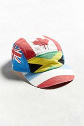 Urban Outfitters Flags 5 Panel Hat Multi