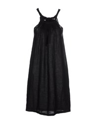 120 Lino Dresses Short Dresses Women Black