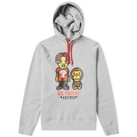 A Bathing Ape Baby Milo X Lil Yachty Pullover Hoodie Grey