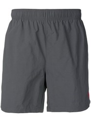 Hugo Boss Elasticated Waist Swim Shorts Grey