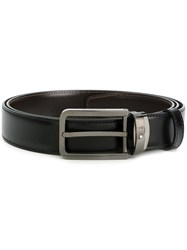 Montblanc Classic Buckled Belt Men Calf Leather Metal Other One Size Brown