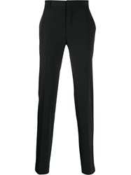 Theory Tailored Straight Leg Trousers Black