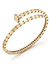 Roberto Coin 18K Yellow Gold Pois Moi Chiodo Bangle 100 Bloomingdale's Exclusive
