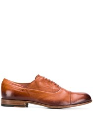 Pantanetti Classic Lace Up Shoes Brown