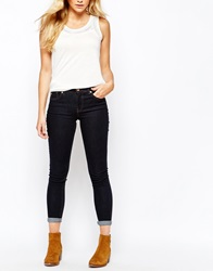 Oasis Rinse Wash Cherry Crop Denim