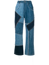 Damir Doma Pia Trousers Blue