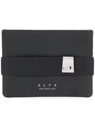 Alyx Strap Detail Note Wallet Black