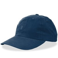 Norse Projects Baby Corduroy Sports Cap Blue