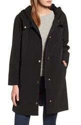 Gallery A Line Raincoat Black