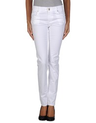 Versace Jeans Casual Pants White