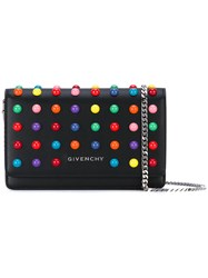 Givenchy Rainbow Dot Crossbody Bag Women Calf Leather Leather One Size Black