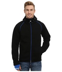 Dale Of Norway Norefjell Masculine Jacket Black Cobalt Off White Men's Jacket