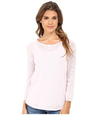 Candc California 3 4 Sleeve Solid Sweater Light Lilac Women's Sweater Purple