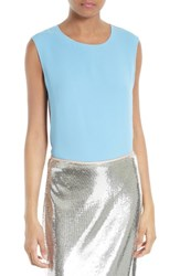 Diane Von Furstenberg Women's Two Tone Shell