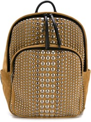 Giuseppe Zanotti Design Studded Backpack Nude And Neutrals