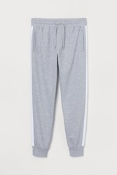 Handm H M Joggers With Side Stripes Gray