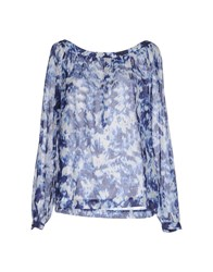 0039 Italy Shirts Blouses Women Dark Blue