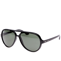 Ray Ban Ray Ban Cats 5000 Sunglasses Black