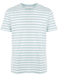 Kent And Curwen Striped Print T Shirt 60