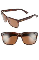 Electric Eyewear Women's Electric 'Knoxville' 56Mm Polarized Sunglasses Matte Tort Bronze Polar
