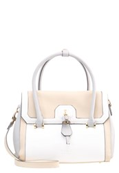 Lydc London Handbag Cream Grey Beige