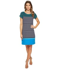 Hatley Nellie Dress Solstice Stripes White