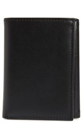 Nordstrom Shop Chelsea Leather Trifold Wallet Black