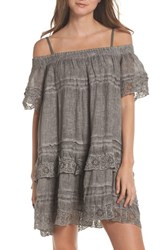 Muche Et Muchette Esmerelda Cover Up Dress Taupe