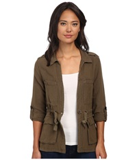 Sanctuary Day Trip Jacket Brown Olive Women's Coat