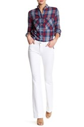 Joe's Jeans Icon Flare Jean White