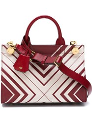 Anya Hindmarch Mini 'Diamonds Ephson' Tote Red