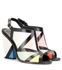 Roger Vivier Leather Sandals Multicoloured