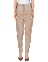 Twin Set Jeans Trousers Casual Trousers Women Beige