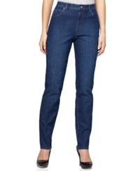 Styleandco. Style Co. Petite Tummy Control Straight Leg Jeans Only At Macy's Rinse