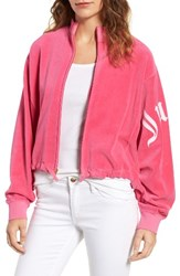 Juicy Couture Women's Velour Batwing Track Jacket