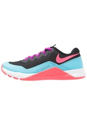 Nike Performance Metcon Repper Dsx Sports Shoes Black Racer Pink Chlorine Blue