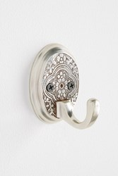 Anthropologie Madras Towel Hook Silver