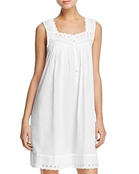 Eileen West Short Chemise White