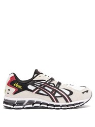 Asics Gel Kayano 5 360 Leather Trainers White Black