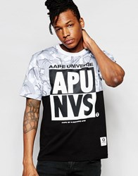 Aape By A Bathing Ape Fancy T Shirt White