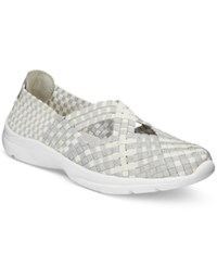 Easy Spirit Quest Sneakers Women's Shoes White Multi Silver