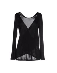 Jucca Topwear T Shirts Women Black