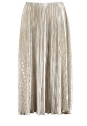 Anna Field Pleated Skirt Gold
