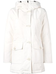Woolrich 'Gxt Mountain' Parka Coat White